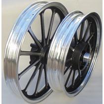 Jogo Roda Dianteira E Traseira Alumínio Kasinski Mirage 150