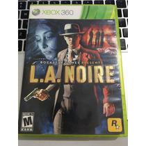 Jogo Xbox 360 Original La Noire Completo Barato Envio Já!!!!