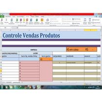 Planilha Excel Cálculo Automático Lucro Estoque