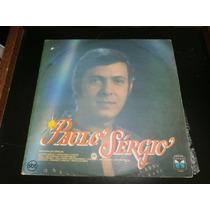 Lp Paulo Sérgio, Última Canção, Disco Vinil, 1987