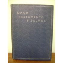 Livro Novo Testamento Nosso Jesus Cristo Salmos Bíblia