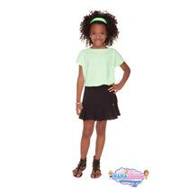 Vestido Infantil Miss Trm Verde Epreto Linha Luxo Lançamento