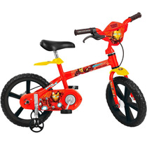 Bicicleta Aro 14 Homem De Ferro Bandeirante