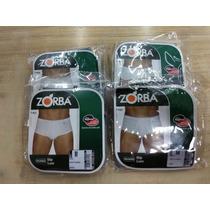 867b241f2 Cueca Zorba 911 Com Abertura 100% Poliamida Kit Com 4 Peças à venda ...
