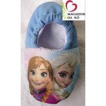 Pantufas Frozen Personalizadas Adulto E Infantil