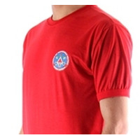 Camisa vermelha - Corpo de Bombeiros