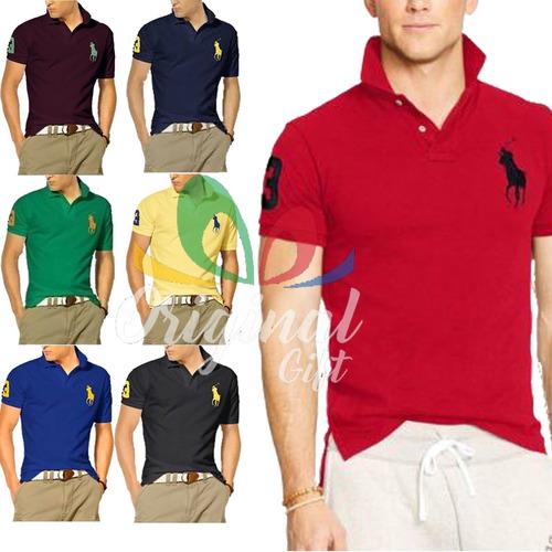 Kit 10 Camisas Gola Polo Masculina Frete Grátis   Lindas f6dd2dc3acecc