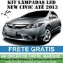 Kit Lampadas Led New Civic - Super Promoçao Anx Leds