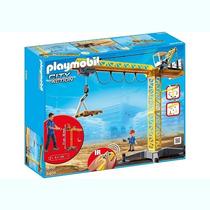 5466 Playmobil Cidade Grande Guindaste Com Controle Remot...