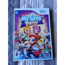 Jogo My Sims Party - Wii - Europeu - Pal