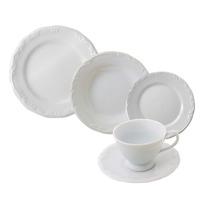 Aparelho De Jantar/chá Pomerode Branco - Schmidt