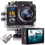 Filmadora Full Hd 1080p 4k + Cartão 32gb Classe 10