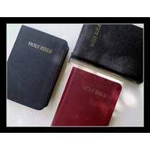 Royal Ruby Text Bible Preta - King James Version