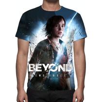 Camisa, Camiseta Game Beyond Two Souls - Estampa Total