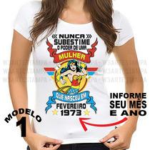 d72b91db93 Busca camiseta mulher maravilha com os melhores preços do Brasil ...