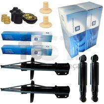 4 Amortecedores Gm + Kit Vectra 2.0 Gt Gtx Mecânico 06/
