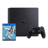 Sony Playstation 4 Slim 1tb Fifa 19 Bundle Jet Black