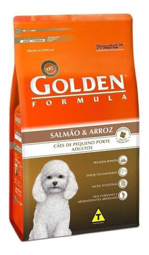 Ração Golden Formula Premium Especial Cachorro Adulto Raça Pequena Salmão/arroz 15kg
