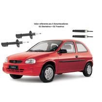 Jogo Amortecedor Corsa Hatch Corsa Sedan 1995 A 2015 Reman
