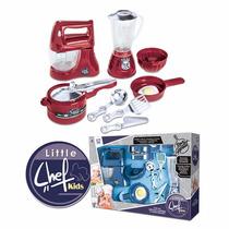 Kit De Cozinha Master Chef Infantil Panela Kids 9 Itens