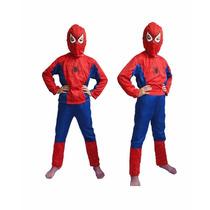 Fantasia Homem Aranha Infantil Spiderman Pronta Entrega