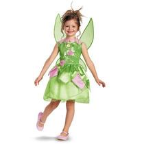 Fantasia Da Fada Tinkerbell Tamanho De 4 A 6 Anos