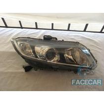 Farol New Civic Honda 2013 Original Lado Direito Passageiro