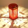 2 X Luminaria Abajour Cabine Telefonica Londres Por Toque !!