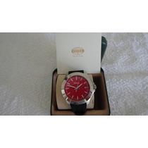 Relógio Masculino Fossil Mod. Fs4445 Pulseira De Borracha