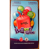 Cilindro Gás Hélio Para 30 Balões Latex Nº 9 Festas Eventos