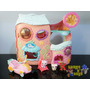 Casa Littlest Pet Shop Tail Waggin Fitness Club Usado Hasbro