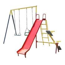 Playground De Ferro 3 Em 1 Grande