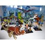 Jurassic World 16 Bonecos Dinossauros E Humanos = Lego