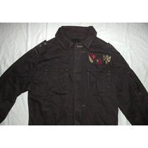 Jaqueta Estilo Militar Masculina C/ Bolsos Moda Inverno Frio