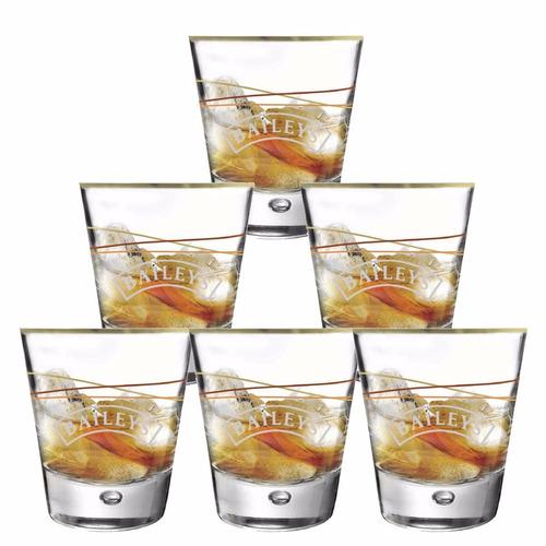 Copos De Whisky - Baileys 270 Ml C / 6 Unid