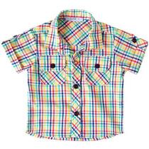 Camisa Xadrez Rainbow -tyrol