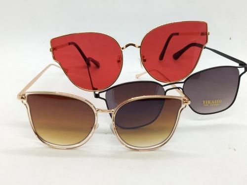 fabdeb6a6d634 Óculos De Sol Feminino E Masc. 20 Un. Com Cases Atacado à venda em ...