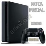Ps4 Slim 500gb Hdr Original Bivolt + Nota Fiscal