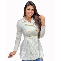 14467d5d9cba5 Busca Sobretudo feminino com os melhores preços do Brasil ...
