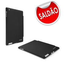 Case Para Ipad Dausen Tr-ri862bk Preto E Transparente Envio!