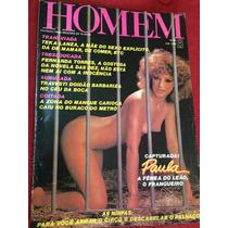Revista Homem 83 Mulheres Nuas Paula Ninfetas Teka Lanza
