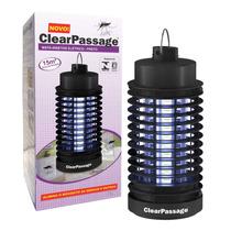 Luminária Elétrica Mata Insetos Clearpassage 127v Preto