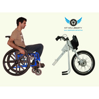 Kit Eletrico Para Cadeira De Rodas Ws Liberty Motor 250w