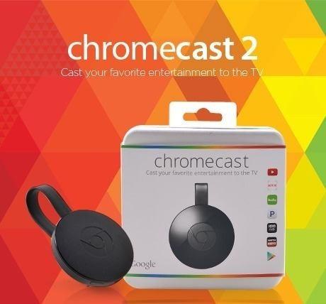 Google Chromecast 2 Chrome Cast  Crome Hdmi 1080p Original