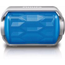 Caixa De Som Philips Azul Bluetooth À Prova D
