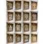 Quadro Porta Rolhas Ou Tampinhas 32x22 Com Vidro E Adesivo