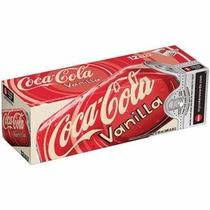 Coca Cola Vanilla Sabor Baunilha Caixa 24 Latas 355ml - Coke
