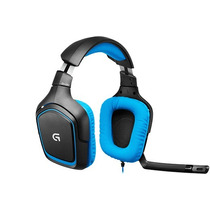 Headset Para Jogos Com Som Surround Logitech G430