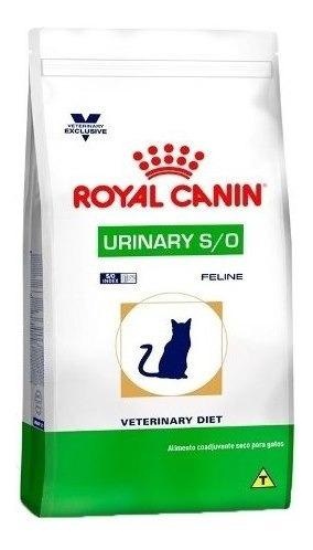 Ração Royal Canin Veterinary Urinary S/o- Gatos 7,5 Adultos