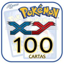 Lote 100 Cartas Pokémon X Y ( Sem Repetição!)